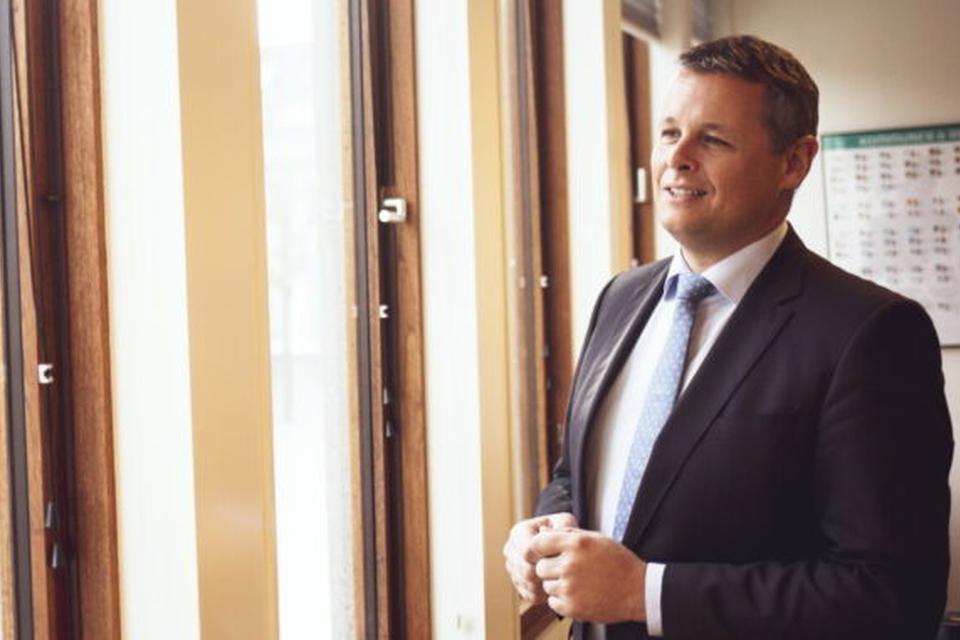 Herning Kommunes pressefoto af fratrådt borgmester Lars Krarup