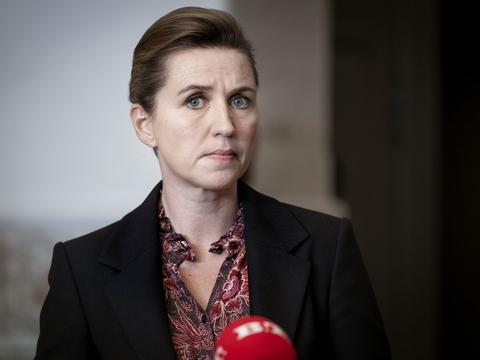 Statsminister Mette Frederiksen (S). (Foto: Liselotte Sabroe/Ritzau Scanpix)