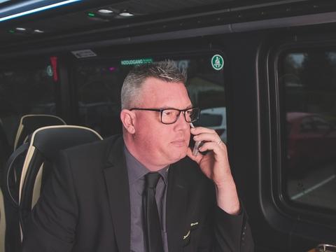 Jan Guldberg, indehaver af Guldberg Busser