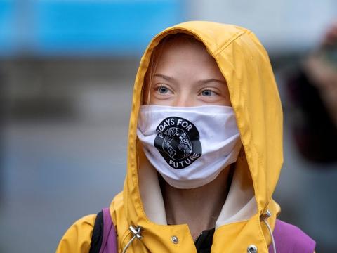 Greta Thunberg mener, at man bør udskyde COP26, der står til at blive afholdt i Glasgow i november (Arkivfoto).
