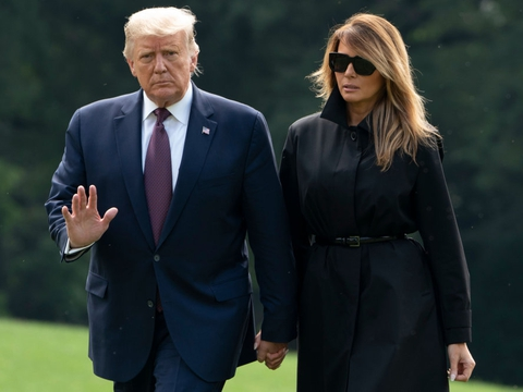Natten til fredag kom det frem, at en af Trumps nære rådgivere var smittet med coronavirus. Derfor blev den 74-årige præsident selv testet. Og den test har altså vist sig at være positiv. (Arkivfoto).