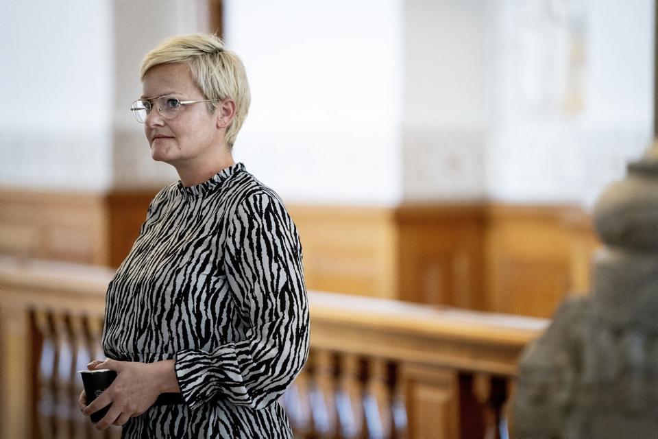 Børne- og undervisningsminister Pernille Rosenkrantz-Theil (S) skal forsøge at strikke en model for minimumsnormeringer sammen. (Arkivfoto)