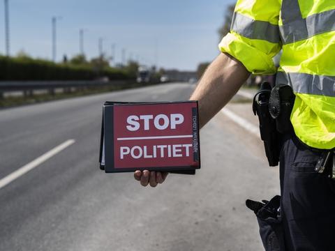 Politiet har i begyndelsen af januar gennemført en målrettet indsats med fartkontroller i hele landet. Flere end 9600 bilister er taget. (Arkivfoto)