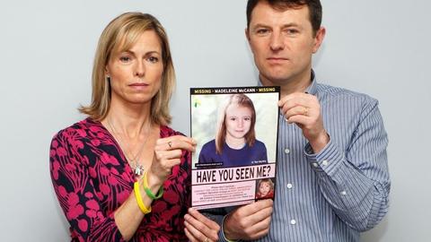 Kate og Gerry McCann har søgt svar på, hvad der skete med deres datter, efter at hun forsvandt fra familiens ferielejlighed i Portugal i 2007. I sidste uge kom der potentielt afgørende nyt, da en tysk mand blev udpeget som ny hovedmistænkt i sagen. (Arkivfoto).