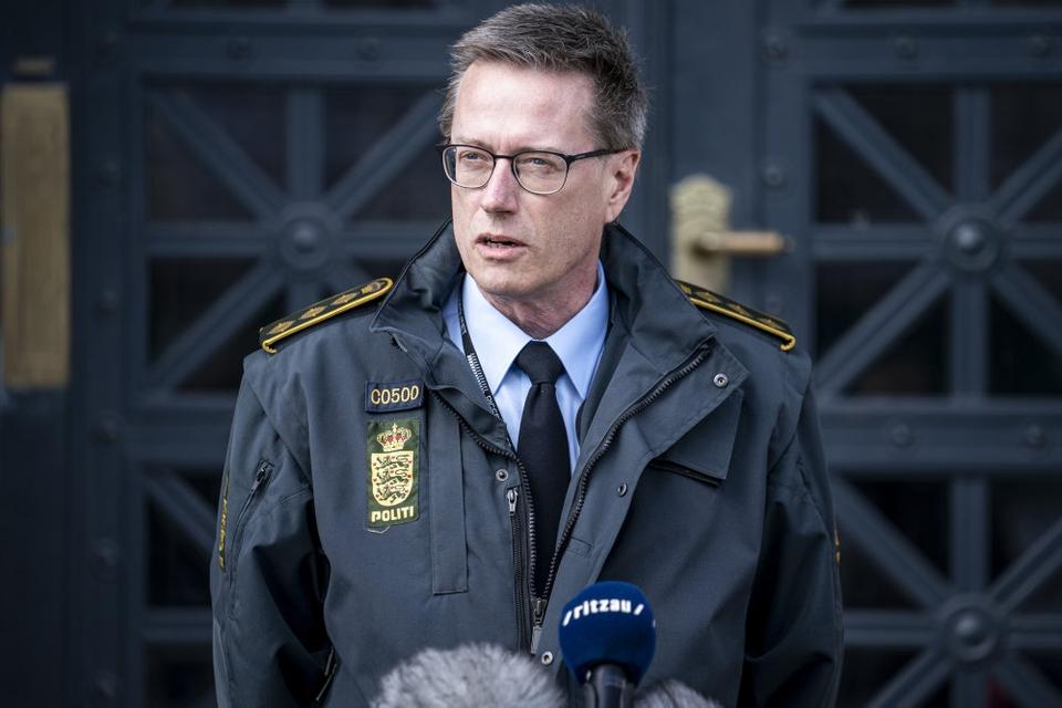 Rigspolitichef Thorkild Fogde er bekymret over resultatet af en undersøgelse af kriminalitetsofres tilfredshed med politiet. (Arkivfoto)