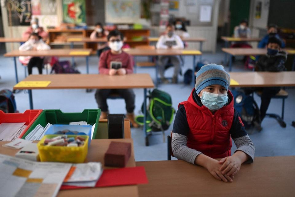 Størstedelen af Tysklands skolebørn er mandag vendt tilbage til klasseværelserne (Arkivfoto)