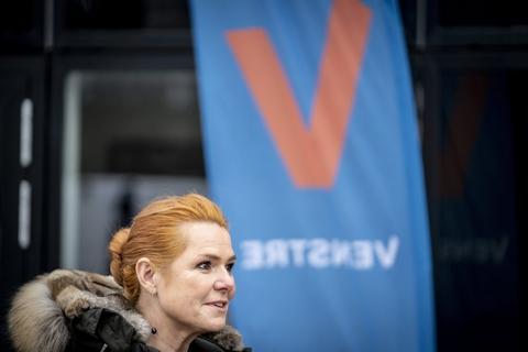 Venstres Inger Støjberg gik af som næstformand i søndags ved partiets ekstraordinære landsmøde. Men ikke uden ballade.