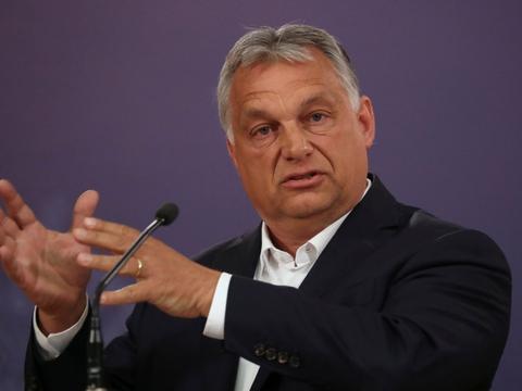 """Ungarns højreorienterede premierminister, Viktor Orbán, har varslet, at han vil """"bygge en ny æra"""" i landet (Arkivfoto)."""