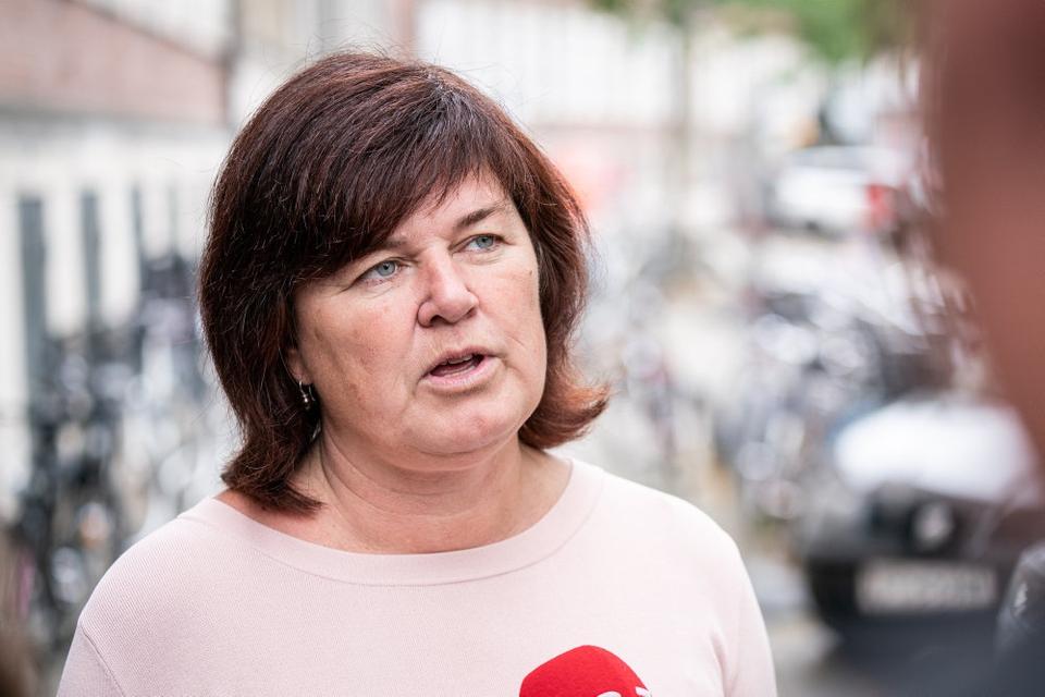 Retsordfører for SF Karina Lorentzen fortæller onsdag, at SF går ind for en rigsretssag mod Inger Støjberg (V). (Arkivfoto)