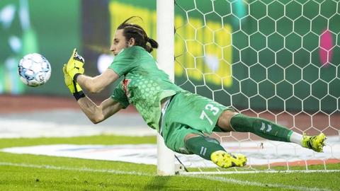 AGF-målmand Kamil Grabara forlader klubben efter endt lejemål.
