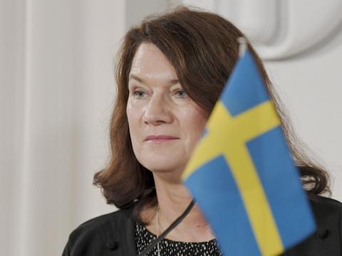 Vi kan se, at København har haft flere døde og smittede end Skåne, siger udenrigsminister Ann Linde i interview til Dagens Nyheter. Men Danmark vil ikke indgå en regional aftale om grænseåbning. (Arkiv)