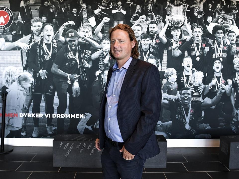 Bo Henriksen er mandag blevet præsenteret i FC Midtjylland.