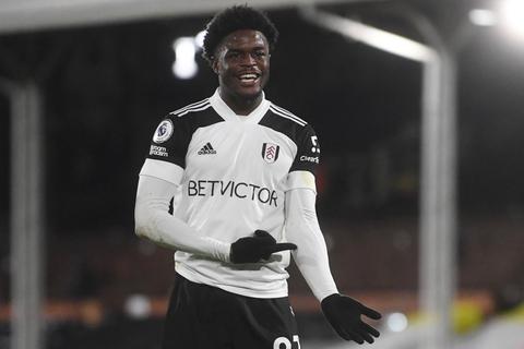 Josh Maja troede han havde scoret for Fulham torsdag, men målet blev annulleret.
