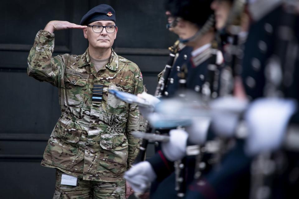 Forsvarschef Flemming Lentfer fortæller fredag, at Forsvaret har valgt at udskyde indkaldelsen af værnepligtige i Hæren, Søværnet og Flyvevåbnet. (Arkivfoto)