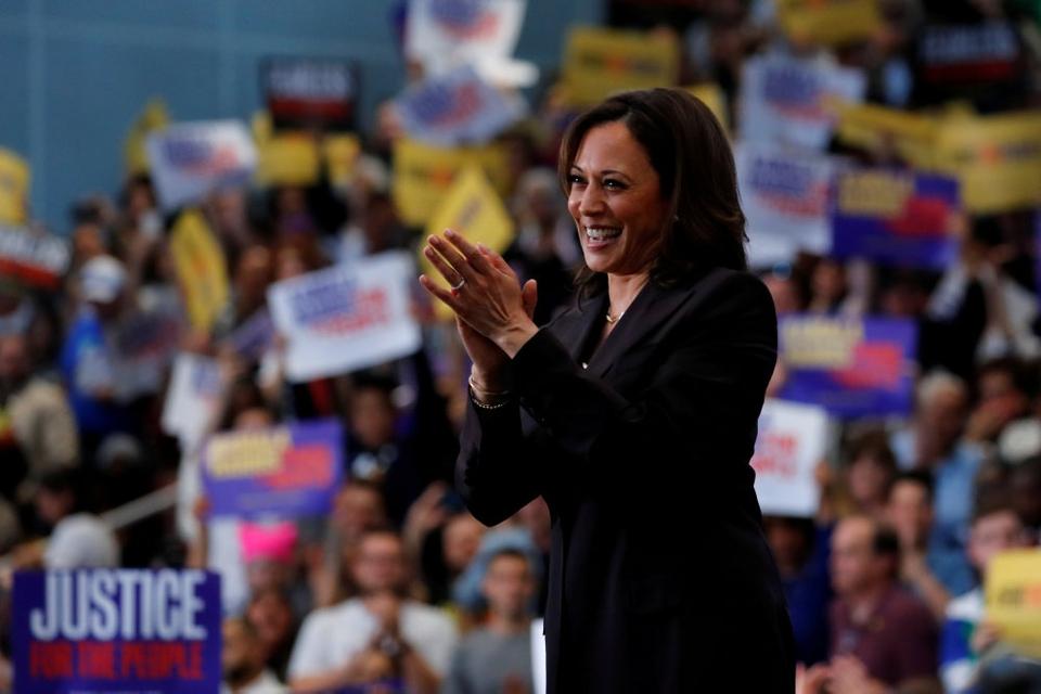 Senator Kamala Harris bliver Joe Bidens vicepræsident, såfremt at han vinder det kommende præsidentvalg. (Arkivfoto)
