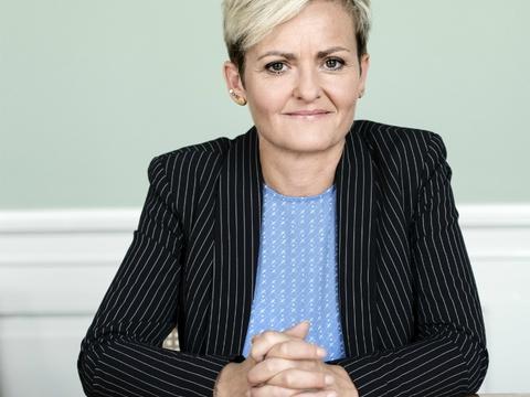 Pressefoto af Pernille Rosentkrantz-Theil taget af Les Kaner