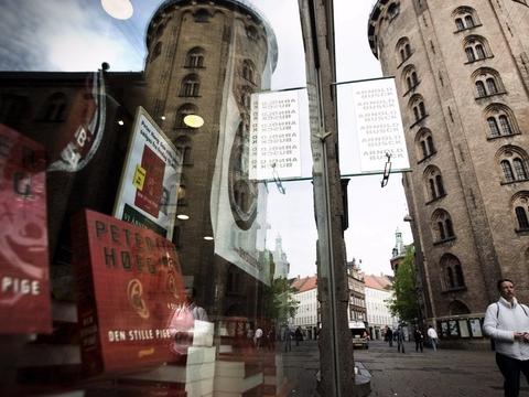 På billedet ses Arnold Busck-butikken i Købmagergade i København. Butikken åbner lørdag 9. maj, og det bliver indtil videre den eneste af de tidligere 29 butikker. (Arkivfoto)