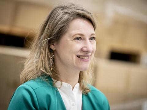 Sophie Hæstorp Andersen (S) vil være overborgmester i København. (Arkivfoto)