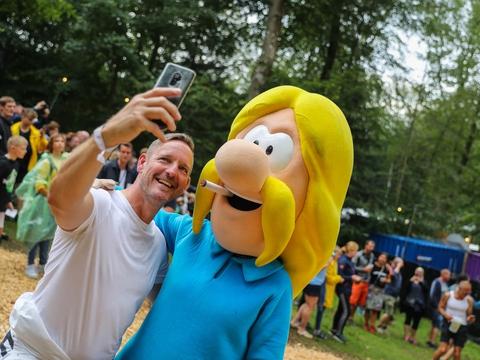 Pressefoto fra Smukfest taget af Breinholdt Foto