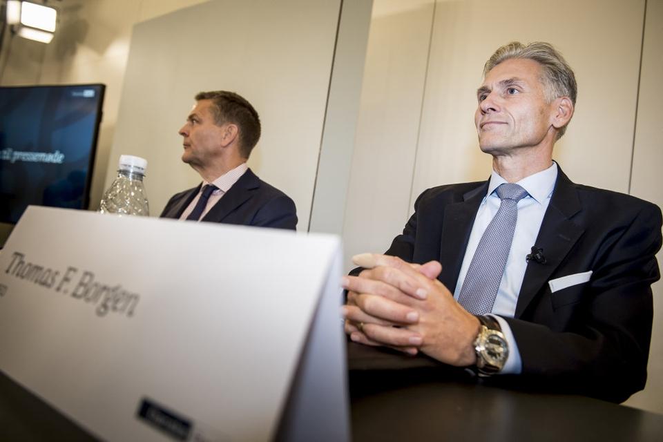 Det er uvist, om Thomas Borgen, tidligere topchef i Danske Bank, er blandt de seks, som ikke længere er sigtet for hvidvask. Borgens advokat afviser at svare. (Arkivfoto)