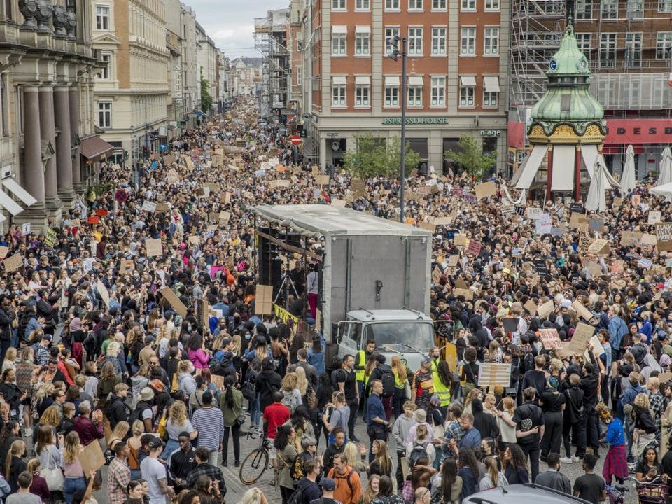 7. juni blev der afholdt en stor Black Lives Matter-demonstration i København, hvor 15.000 deltog.