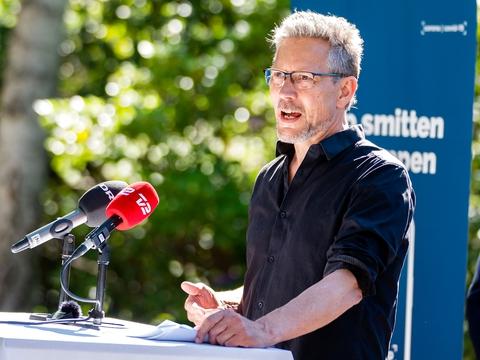 Torsten Gejl, Alternativets eneste tilbageværende folketingsmedlem. (Foto: Martin Sylvest/Ritzau Scanpix)
