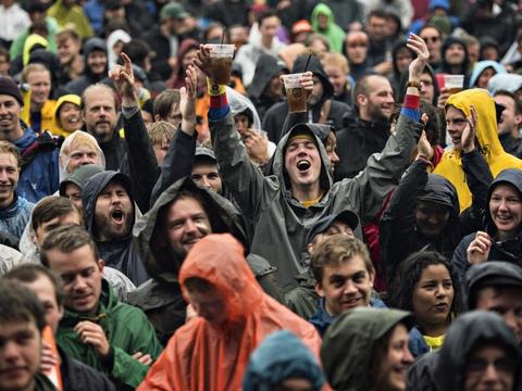 Normalt er Roskilde Festival et sted, hvor mange tusinder mennesker er samlet til en stor fest. (Arkivfoto)