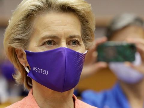 - Jeg anerkender, at denne øgning fra 40 til 55 procent er for meget for nogle, og ikke nok for andre, siger Ursula von der Leyen om nyt 2030-klimamål.