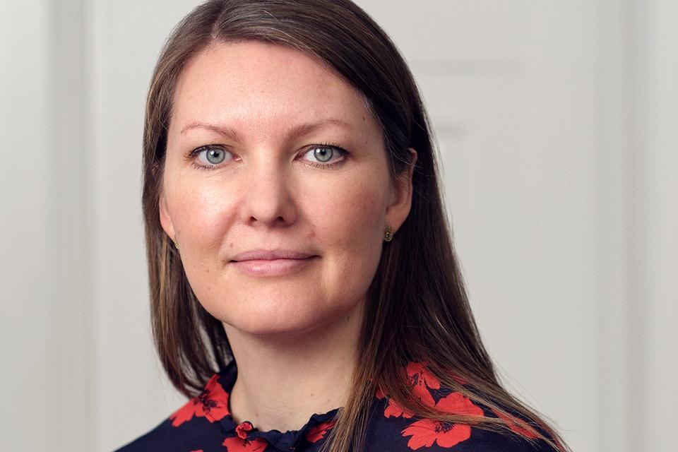 SSIs pressefoto af leder af Ekspertgruppen, Camilla Holten Møller