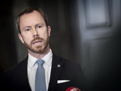 Jakob Ellemann-Jensen (V) håber på en mere lydhør regering, når partierne skal drøfte den yderligere genåbning af samfundet. (Arkivfoto)