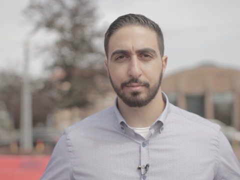 Tarek K. Ghanoum. Privatfoto