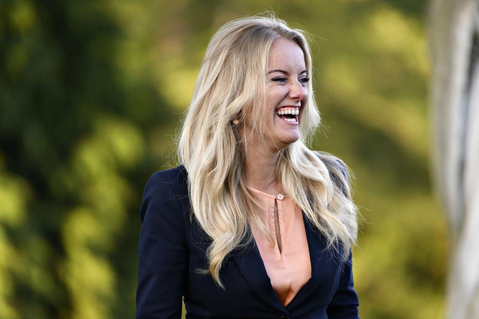 Partiformand for Nye Borgerlige, Pernille Vermund, har rigeligt at glæde sig over i disse dage. (Foto: Philip Davali/Ritzau Scanpix)