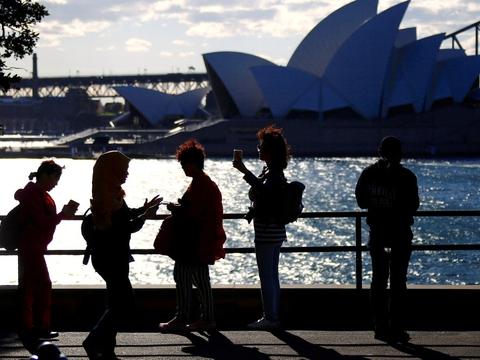 Ifølge Global Times brugte kinesiske turister 12 milliarder australske dollar, svarende til 55 milliarder kroner, i Australien i 2019. (Arkivfoto).