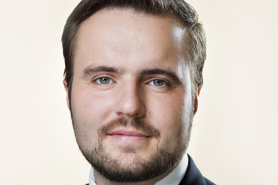 Folketingets pressefoto af erhvervsminister Simon Kollerup v/Steen Brogaard