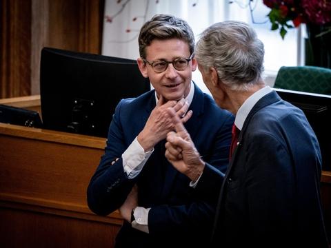 Venstres Karsten Lauritzen kan meget vel blive partiets næste gruppeformand tirsdag. (Arkivfoto)