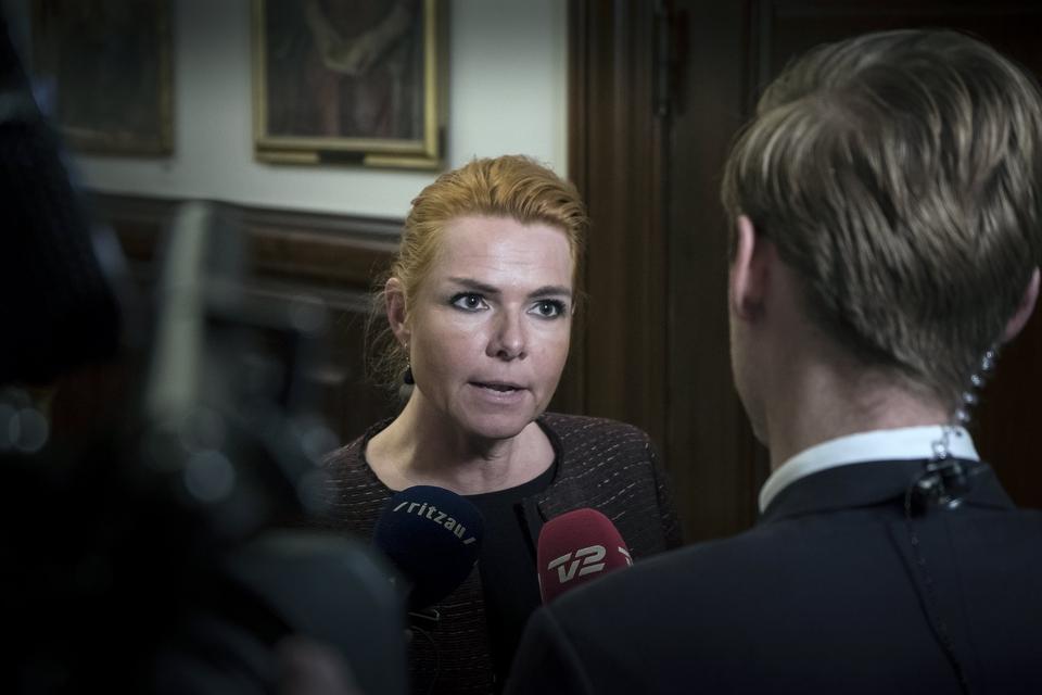 Der er masser af gode grunde til at skyde Inger, lyder det om Venstres næstformand Inger Støjberg fra to anonyme Antifa-medlemmer fra grupperingen Antifa Info Aarhus. (Foto: Johan Wessman/News Øresund)