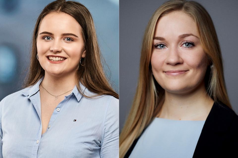 Sarah Sand Nielsen (tv.) og Louise Theilade Thomsen (th.)