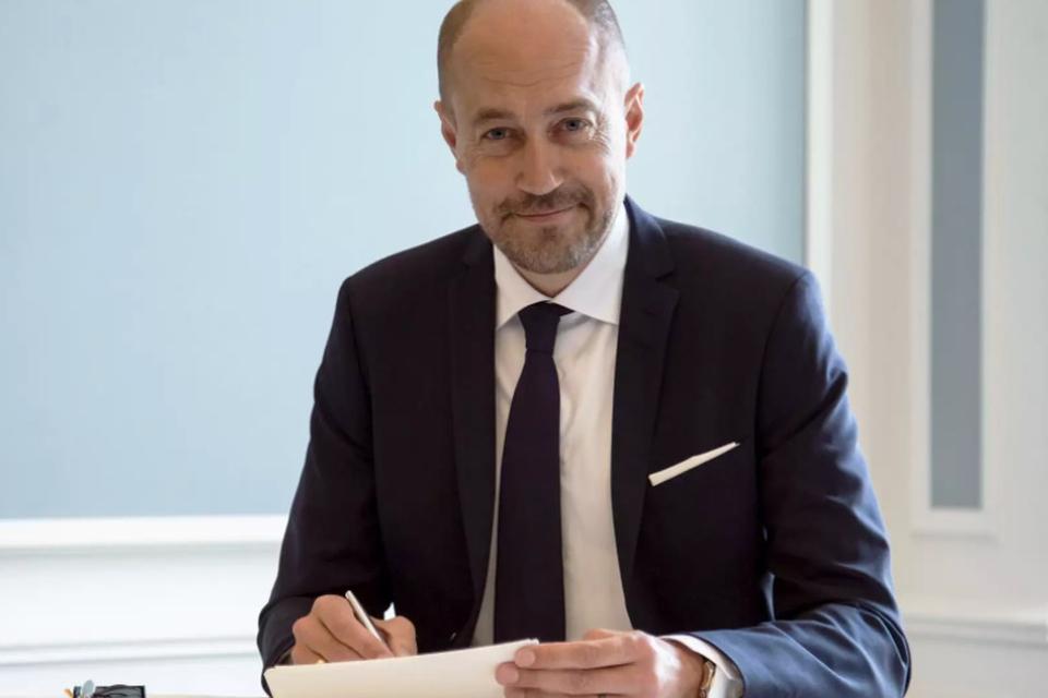 Pressefoto af sundhedsminister Mogens Heunicke