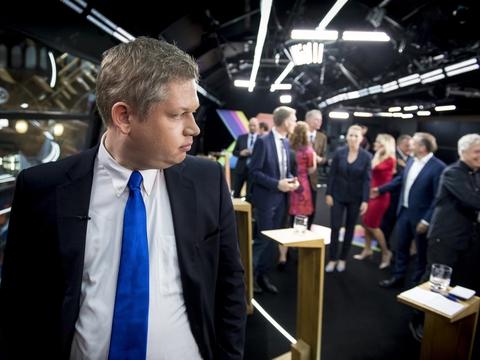 Rasmus Paludan stillede med sit parti, Stram Kurs, op til folketingsvalget i 2019. Partiet fik lidt over 63.000 stemmer og blev dermed ikke valgt ind. (Arkivfoto)