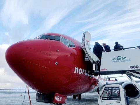 Norwegian har gennemført sin store redningsplan. (Arkivfoto)