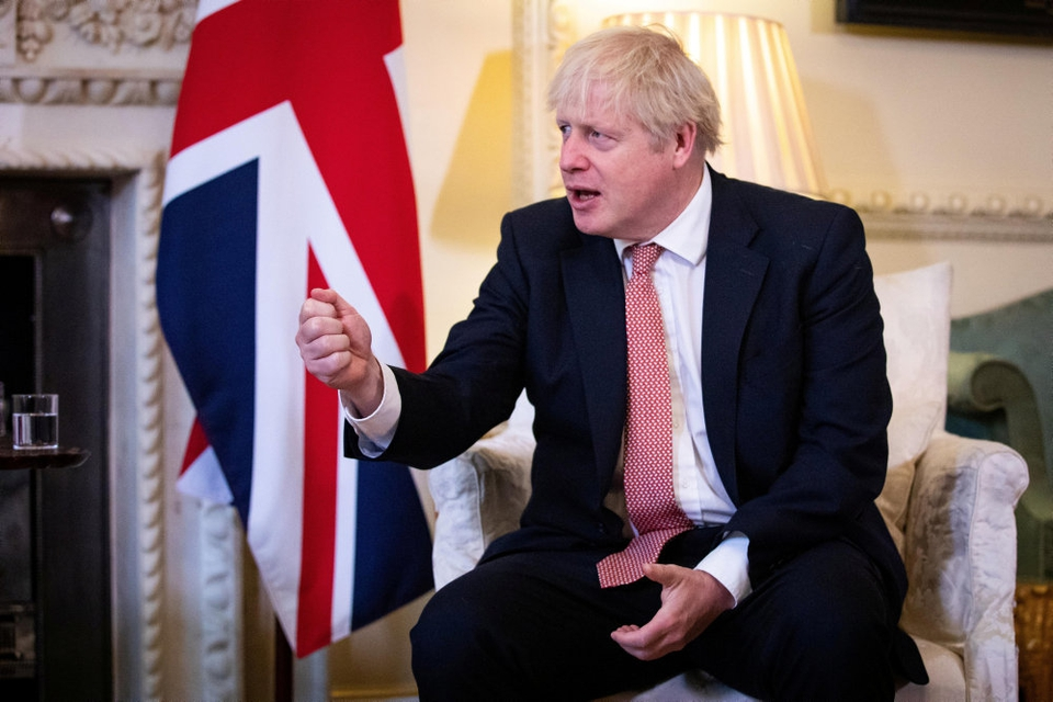 Den britiske premierminister, Boris Johnson, har for nyligt advaret om, at Storbritannien står over for en hård vinter i kampen mod coronavirusset. (Arkivfoto)