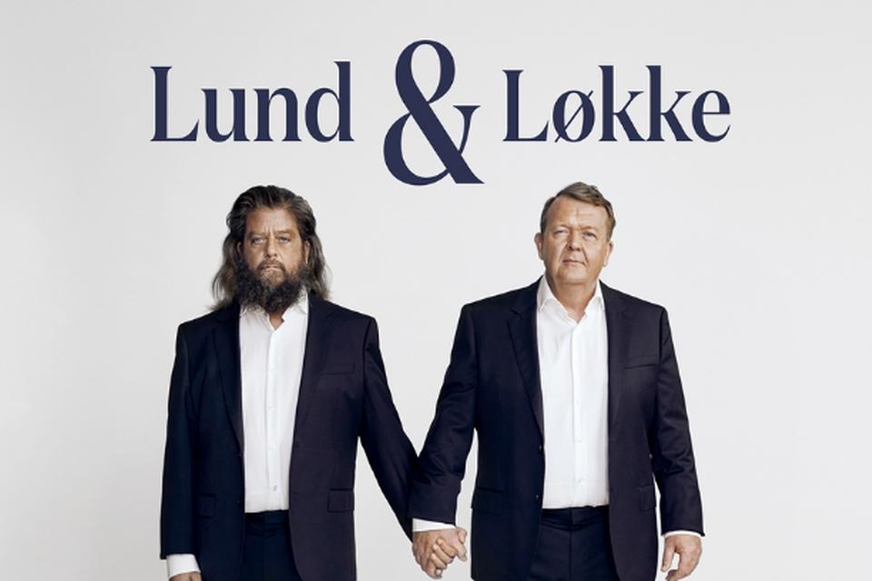 Anders Lund Madsen og Lars Løkke Rasmussen lancerer en ny podcast ved navn Lund & Løkke. (Foto: Martin Bubandt)