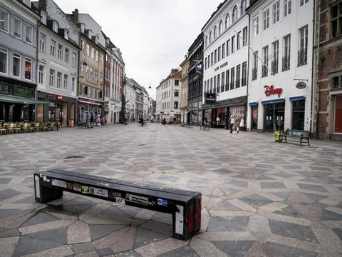 Et fald i det danske privatforbrug har i første kvartal været med til at give et fald i den danske økonomi. (Arkivfoto)