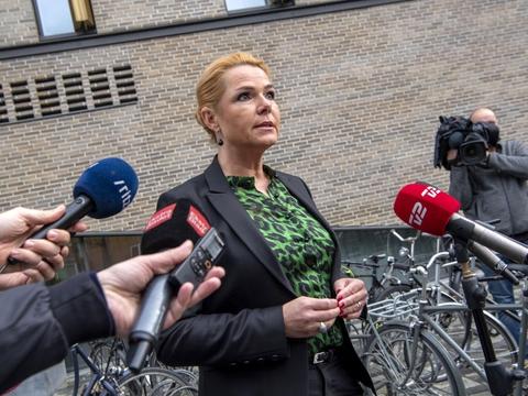 Inger Støjberg (V) møder nu også kritik fra Venstres eget bagland i sagen om en ulovlig ordre om adskillelse af asylpar. (Arkivfoto)