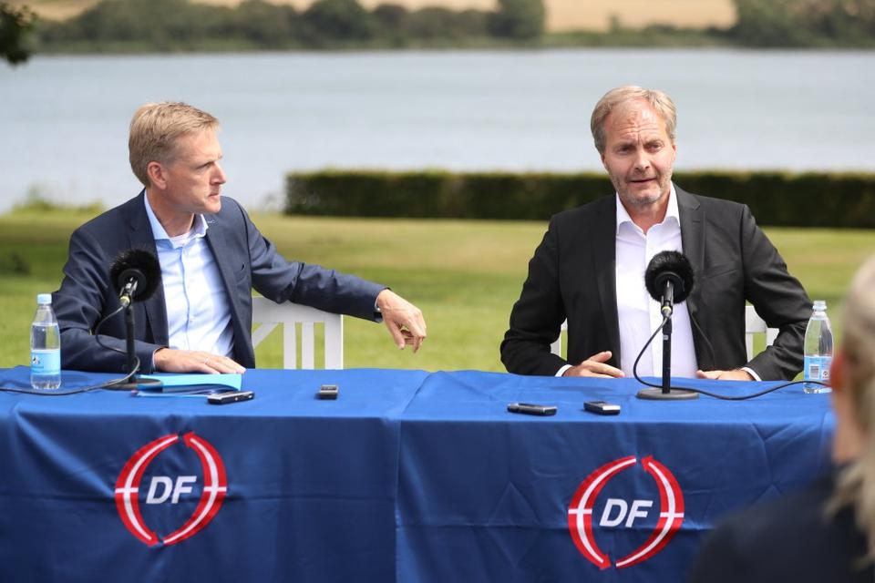 Dansk Folkepartis formand, Kristian Thulesen Dahl, vil på onsdagens pressemøde ikke udpege en kronprins for partiet, efter at Morten Messerschmidt er blevet udnævnt som partiets politiske næstformand.