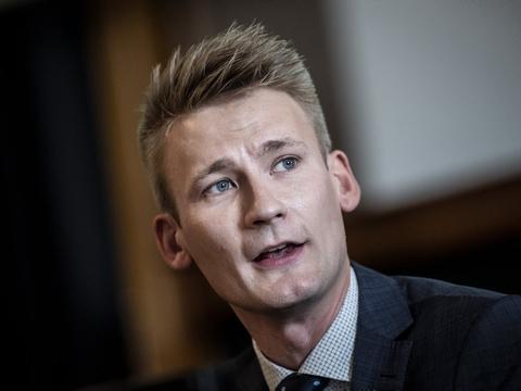 Tidligere folketingsmedlem Peter Kofod (DF) vil vælges ind i partiets hovedbestyrelse. (Arkivfoto)