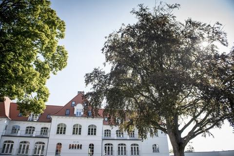 Comwell er snart klar til igen at åbne dørene for gæster på sit hotel i Vejle. (Arkivfoto)