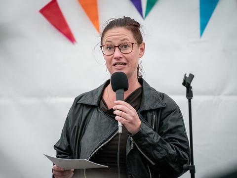 Teknik- og miljøborgmester Ninna Hedeager Olsen (EL) har bedt sin forvaltning om at redegøre for, om der er nogle politiske handlemuligheder for at ændre tilladelsen til, at 290.000 kubikmeter spildevand udledes i Øresund. (Arkivfoto)