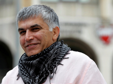 Menneskerettighedsaktivisten Nabeel Rajab blev i 2018 idømt fem års fængsel, men er nu løsladt, oplyser hans advokat ifølge Reuters. (Arkivfoto).