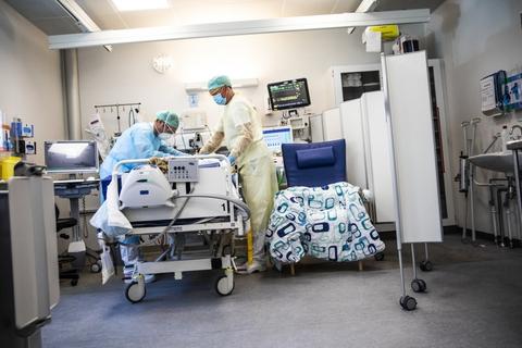 Coronapresset på landets hospitaler er aftaget den seneste tid.